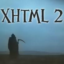 RIP XHTML 2