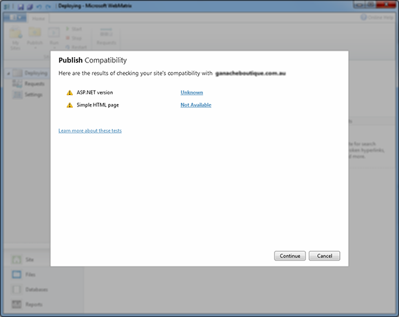 Publish Compatibility