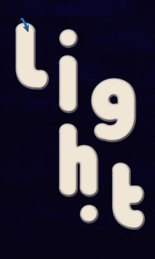Luminous Text Effect
