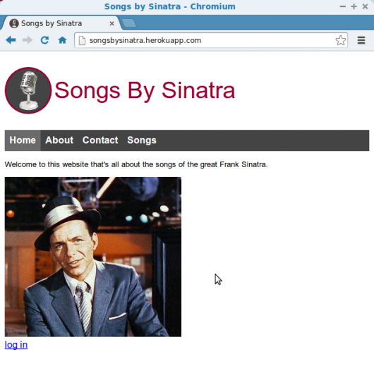 songsbysinatra