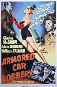 Movie Poster: Armored Car Robbery
