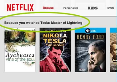 Netflix: Because you watched...