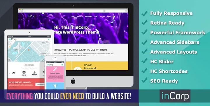 Incorp – MultiPurpose WordPress Theme