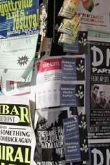 Pasted posters