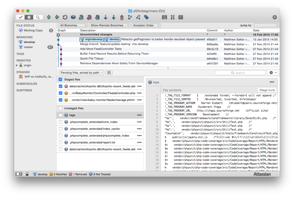 SourceTree version control software