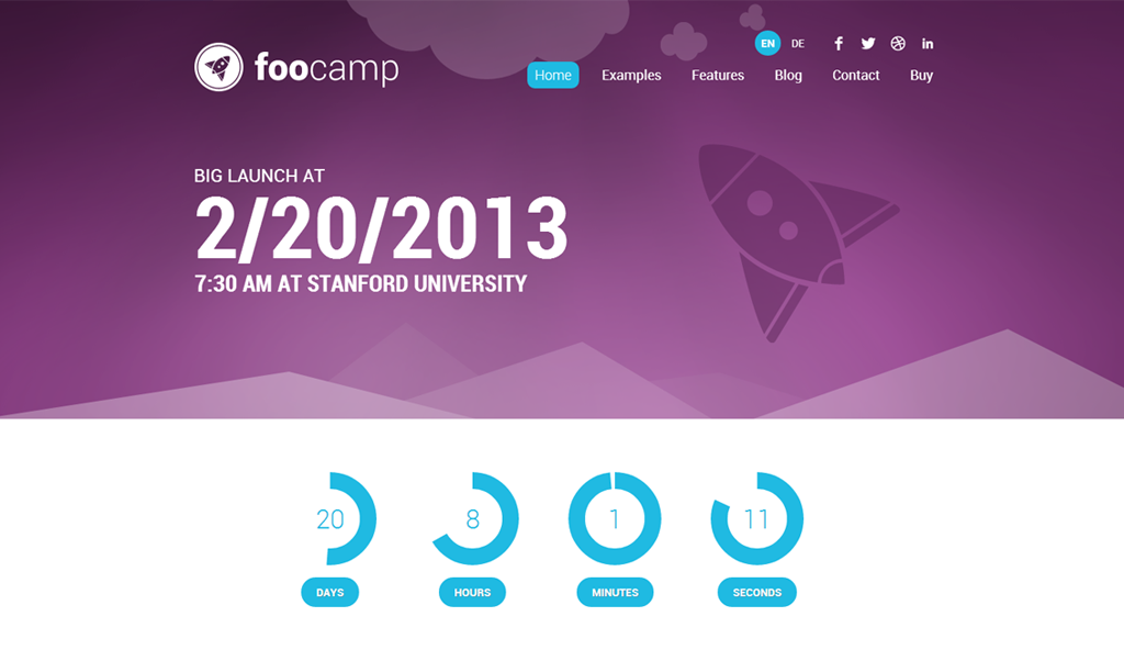 Event Theme Foocamp