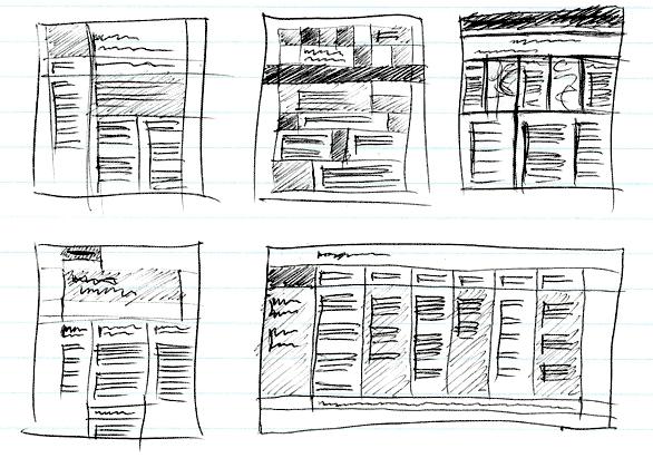 Client sketches