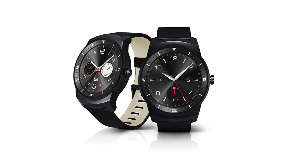 Pictured: LG G Watch R Source: LG