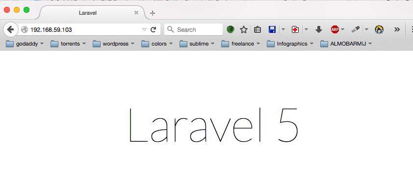 Laravel Demo screenshot