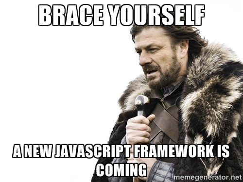 A new javascript framework is coming