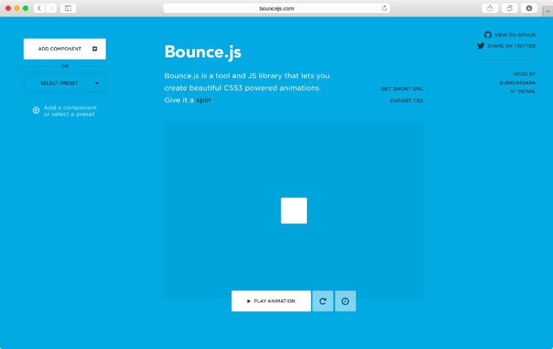 Bounce.js