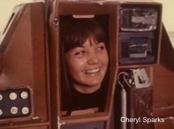 Cheryl Sparks inside Huey