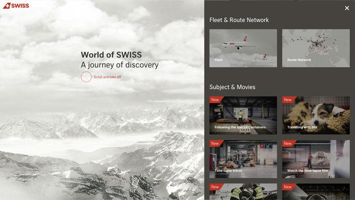 World Of Swiss ScrollJack