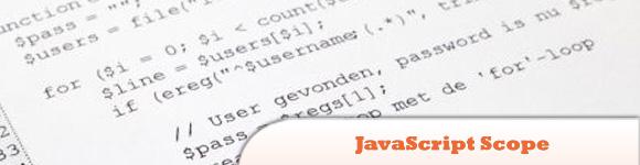 JavaScript Scope