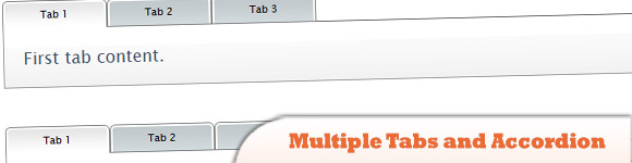Multiple Tabs and Accordion