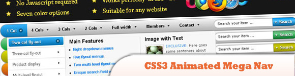 CSS3 Animated
