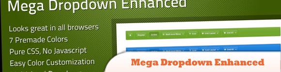 Mega Dropdown