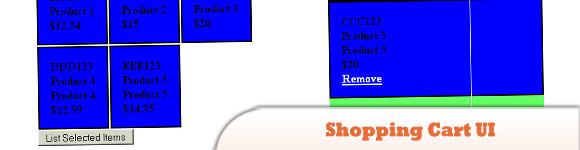 Shopping Cart UI