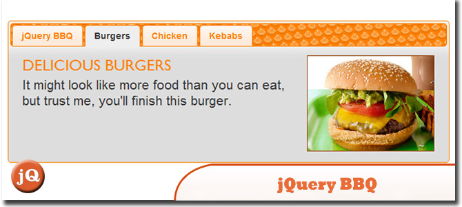 jQuery BBQ