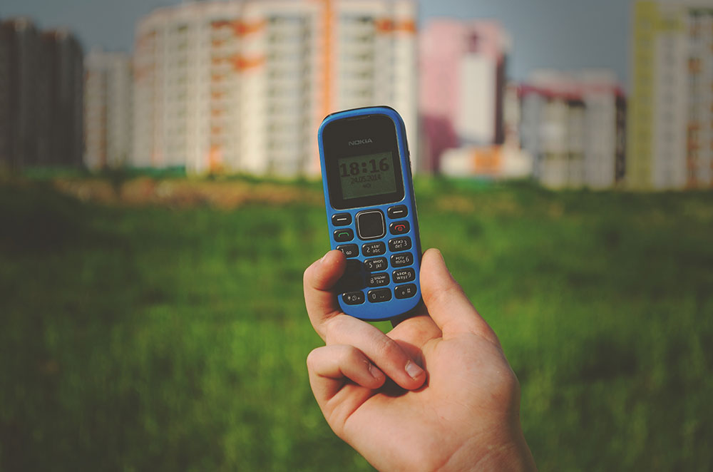 A feature phone