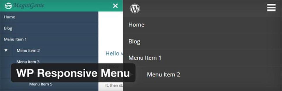 WordPress Responsive Menu