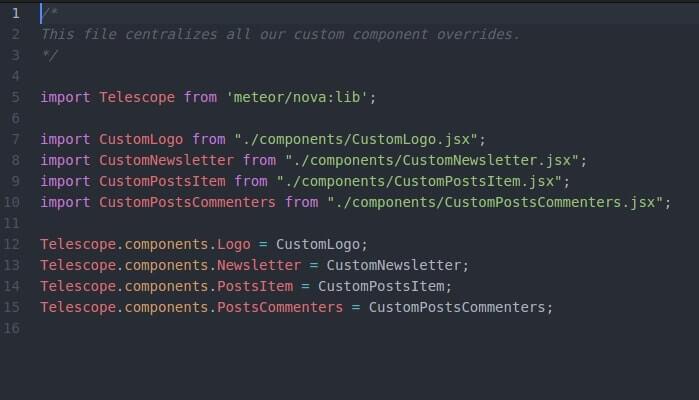 Component js file inside Telescope Nova theme