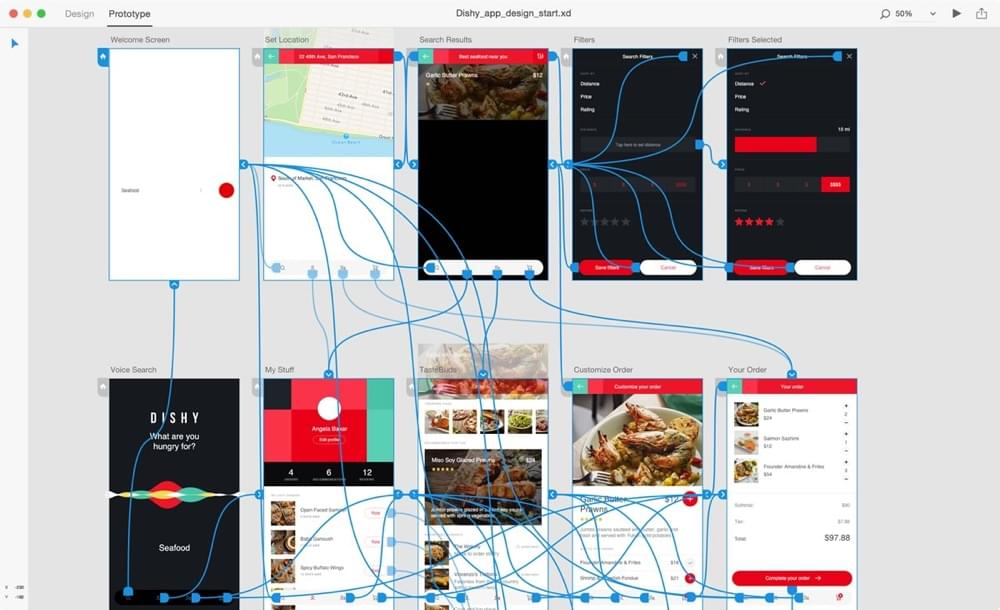 Prototyping with Adobe XD