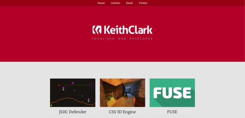 Keith Clark Portfolio