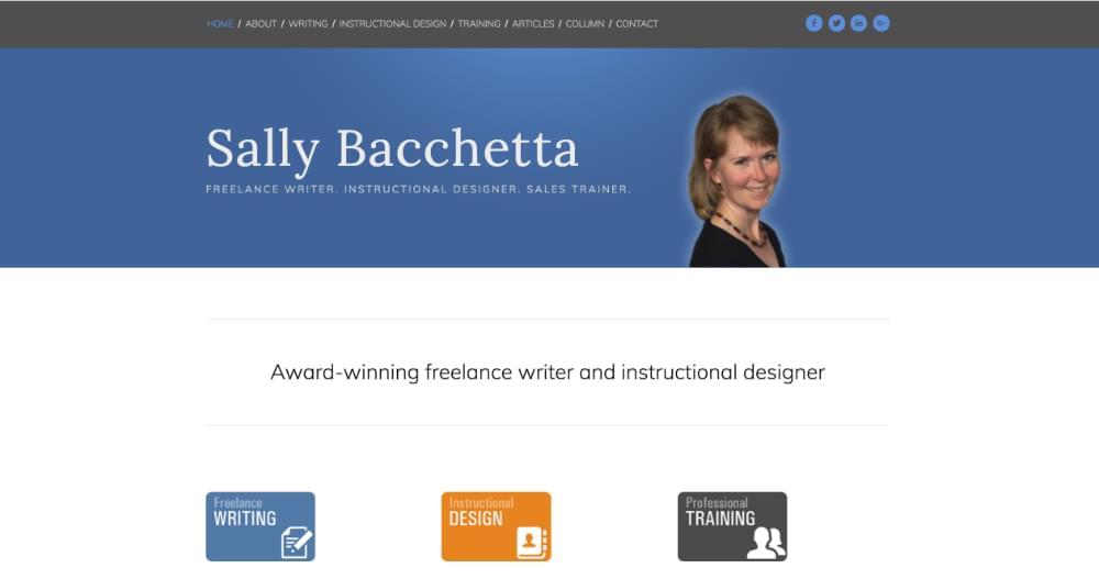 Sally Bacchetta Portfolio