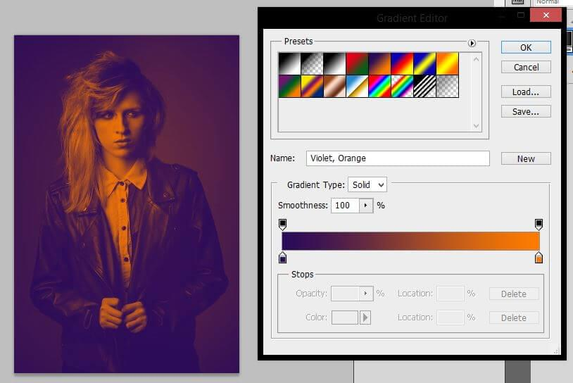 Selecting colors