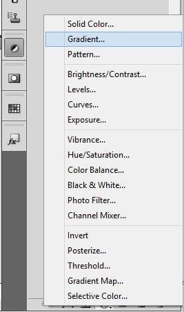 Select gradient.