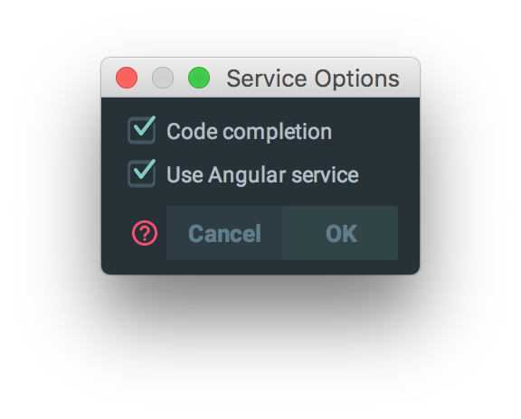 WebStorm and Angular: TypeScript recommendations