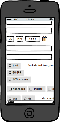 If our answer fields aren't small, it's even more likely we'll cause the horizontal scrollbar to appear on mobile