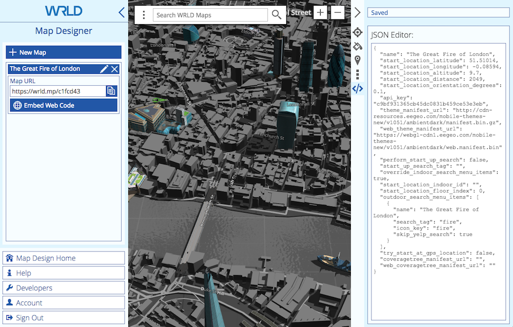 Map Editor JSON