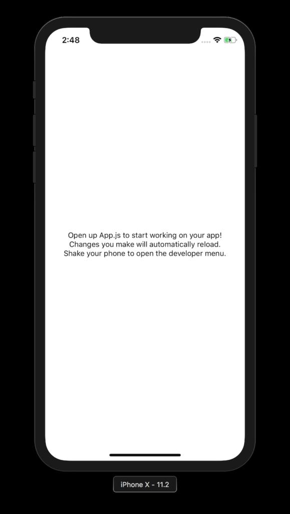 Rendered App.js