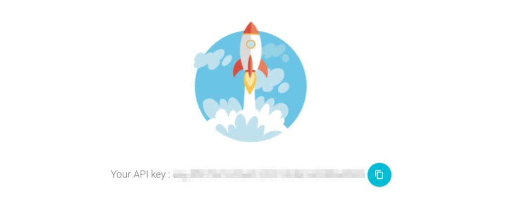 Grabbing your API key